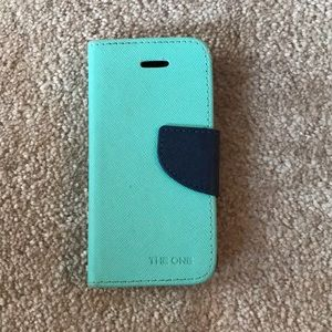 Accessories - ipod  5 & 6 turquoise protective case